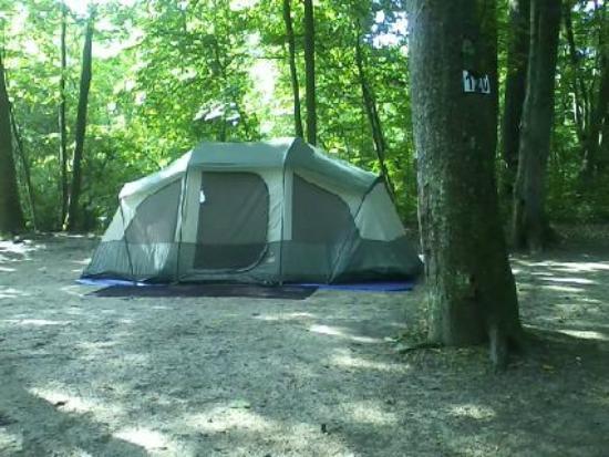 Sugar Creek Glen Campground: site #120
