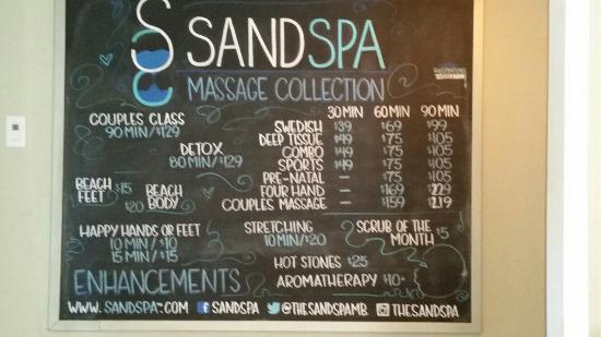 Manhattan Beach, CA: Sand Spa