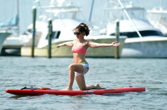 Jensen Beach, FL: Paddle Board Yoga