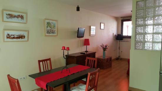 Dining & Living Space - Attic Apartment with Private Terrace - El Granado