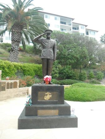 San Clemente, CA: Major General John A. Lejeune Statue