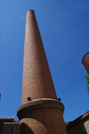 Thuir, Frankrike: La cheminée.