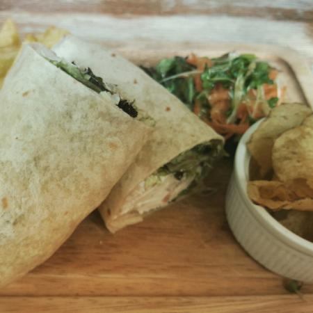 Number 12 Tearoom and Restaurant: Chicken and bacon wrap