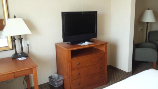 Holiday Inn Express Hotel & Suites Bay City: tv