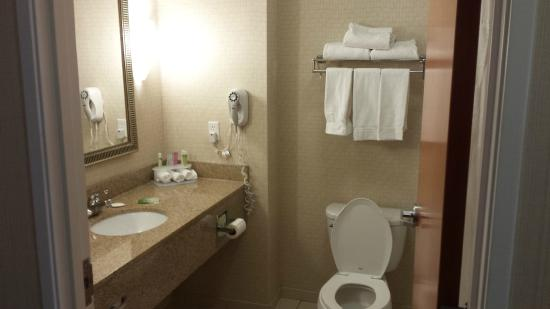 Miraculous Bathroom Picture Of Holiday Inn Express Hotel Suites Bay Ibusinesslaw Wood Chair Design Ideas Ibusinesslaworg