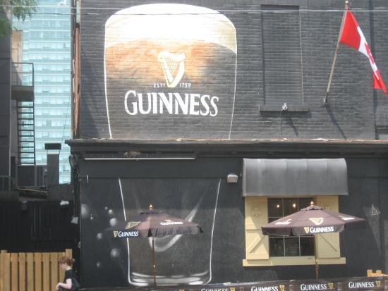 McVeigh's Irish Pub - Giant Guinness