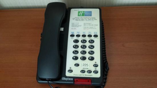 Bay City, MI: Telephone in Rm 225