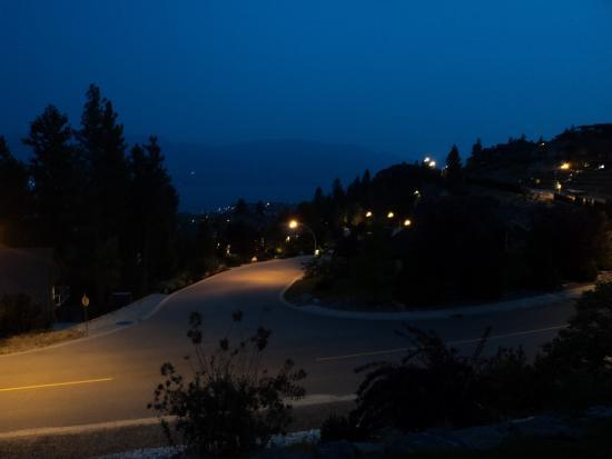 West Kelowna, Kanada: View From the terrace.