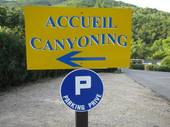 Destination Nature - Canyoning06 : on se gare ici au camping