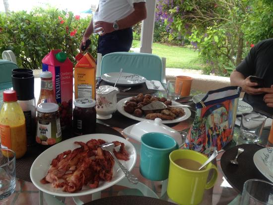Lower Carlton, Barbados: Breakfast