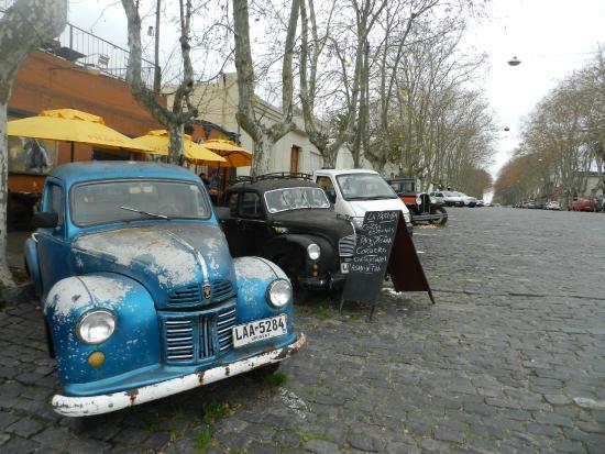 Barrio Historico: Decoração na rua