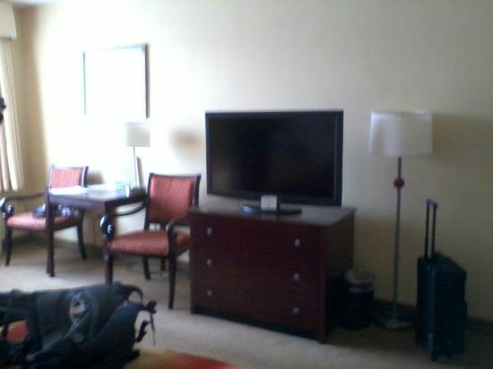 Hotel Boston : Bastante espacio en las habitaciones y buena tecnología