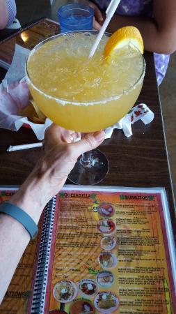 San Marco's : The large Margarita,   46oz    Orange based