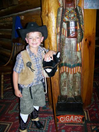 Warrensburg, NY: All ages of cowboys & cowgirls welcome