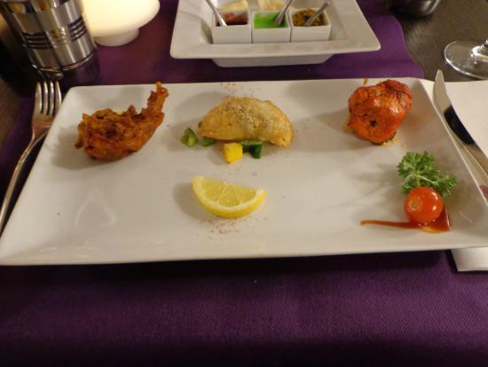 AUX-INDES : De drie voorgerechten van de menu