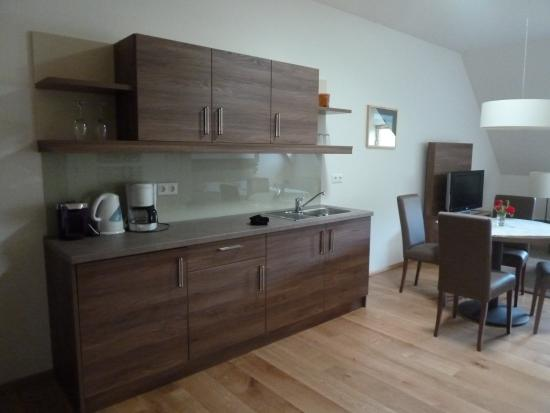 Lehensteiner Wachau: Zona de cocina-comedor del apartamento
