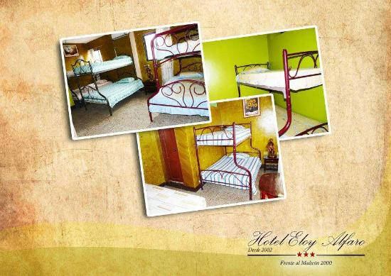 Hotel Eloy Alfaro: habitaciones