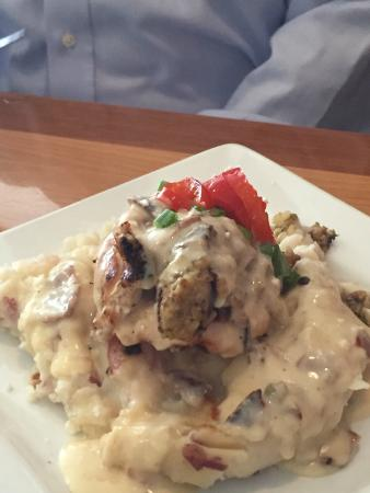 The Blue Cactus Cantina: Chicken Boudin