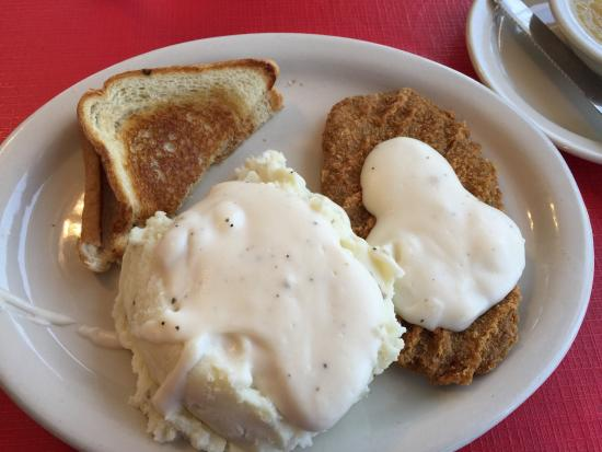 Fried meatloaf with gravy recipes