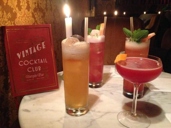 Heavenly cocktails - Picture of Vintage Cocktail Club