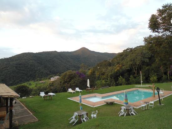 vista da piscina picture of pousada santuario caete On piscina santuario