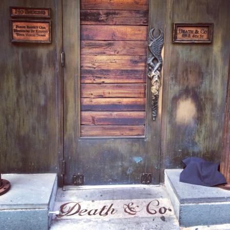 front door companyFront door  Picture of Death  Co New York City  TripAdvisor