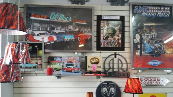 Man Cave Metal : Mancave furniture and accessories made from auto parts