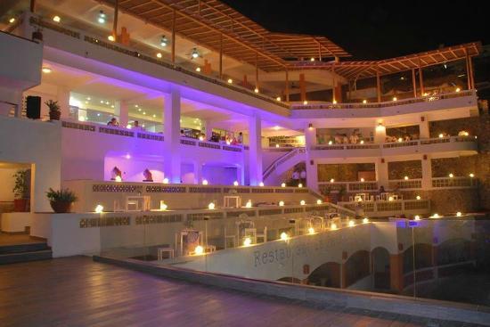 """El Mirador Acapulco Hotel: Restaurant """"la Perla"""" con la mejor vista"""