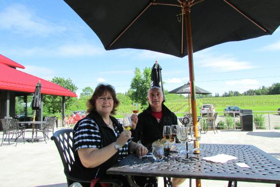 Jost Vineyards: great patio
