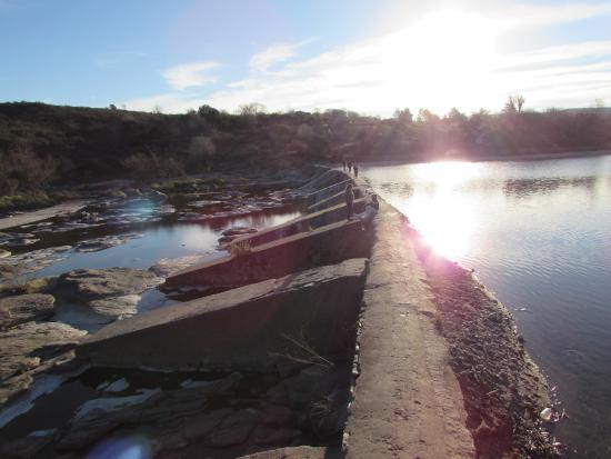 Juntura de los Rios: pasaje unión de los 2 ríos