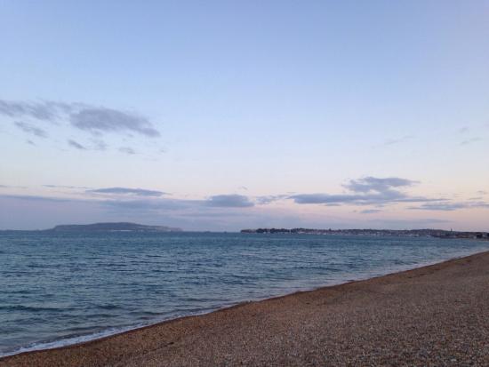Weymouth, UK: Beautiful view at 9:00pm!