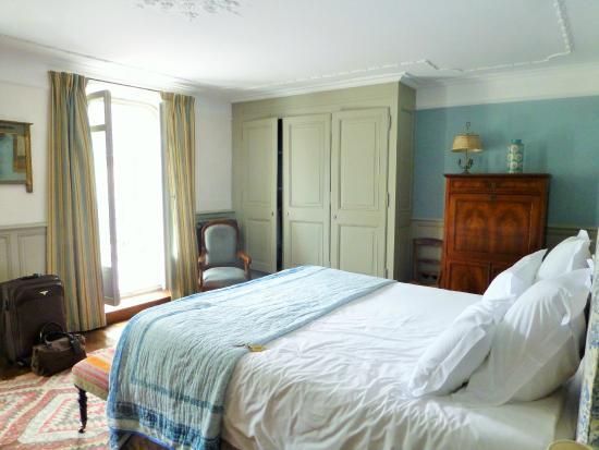 Les Tilleuls 1738 : chambre MONET : terrasse vue sur jardin
