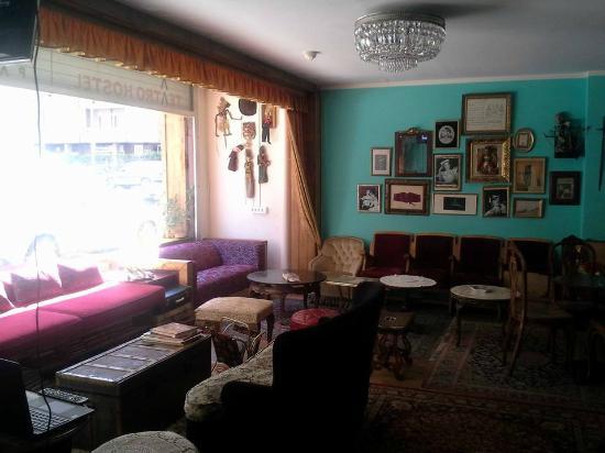 Pars Teatro Hostel: Lounge Area