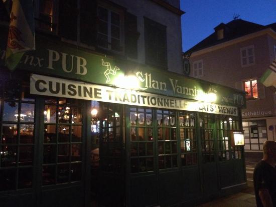Ellan vannin pub irlandais chartres restaurant avis for Bon restaurant chartres
