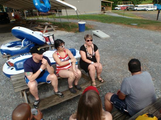 Harpers Ferry Adventure Center : getting to know each other part