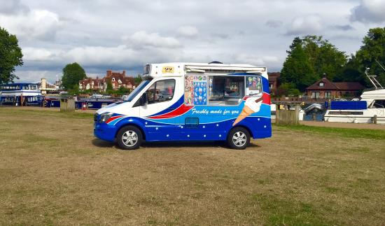 45cab4804b Our new Mercedes Ice Cream van - Picture of Henley Piazza