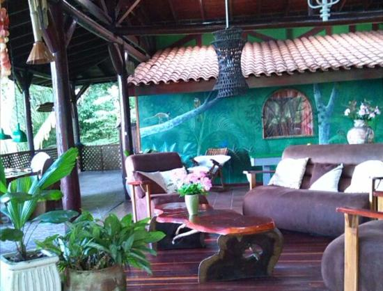 Jungle Villa: Our main terrace