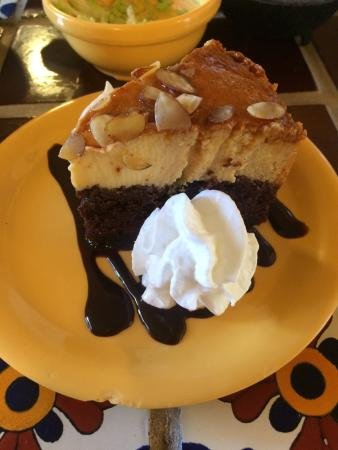 Chocolate flan and tres leches cake...both were fantastic