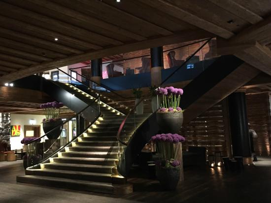 The Lobby Picture Of The Alpina Gstaad Gstaad TripAdvisor - Gstaad alpina