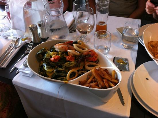 Restaurant L Escale Ile Rousse Menu