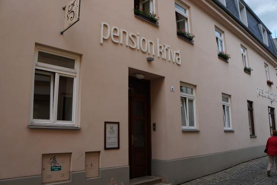 Penzion Cafe Kriva: Exterior of hotel