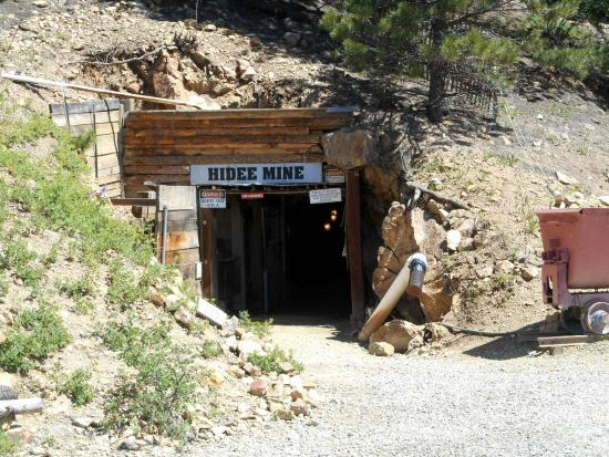 Hidee Gold Mine: The Hideei Mine entrance.