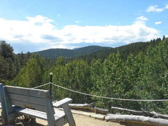 Hidee Gold Mine: How many parking lots have a view like this?