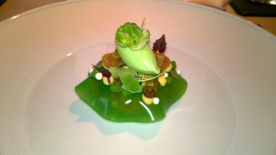 Goldberg Restaurant & Winelounge: Lachstartar