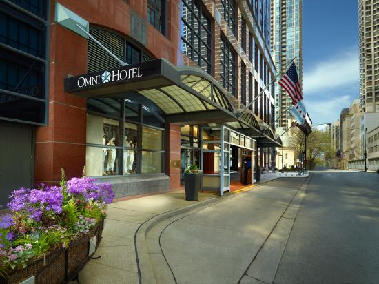 Omni chicago hotel hotel reviews deals chicago il for Chicago hotel packages