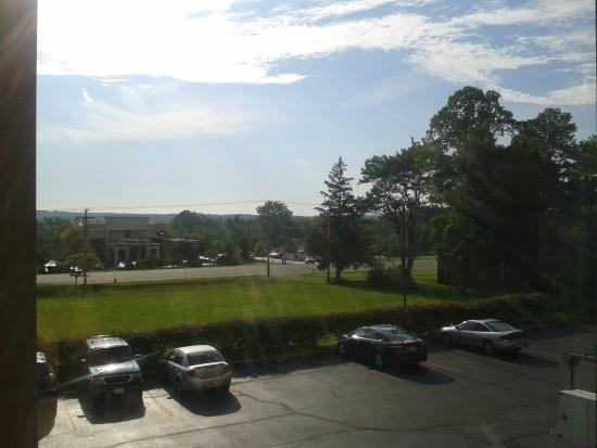 Richfield, OH: View from room 209