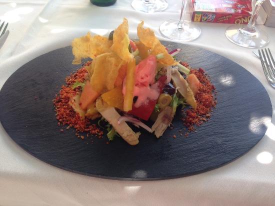 Casapiedra Ibiza: Chicken salad delicious