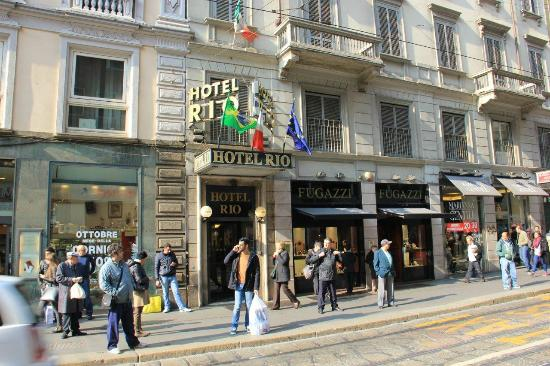 Hotel Rio: Вид на отель