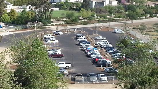 Claremont Hills Wilderness Park: the new parking