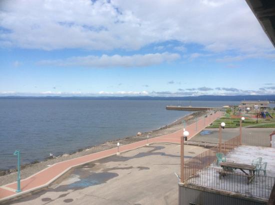 Hôtel Sept-Iles : Vue du balcon
